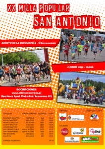 CARTEL MILLA SAN ANTONIO 2016 - A3